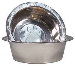 Stainless Steel Bowls Included!